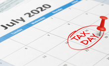 Tax day July 15 2020 Deadline